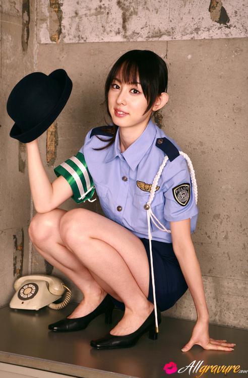 Sex uniform police women