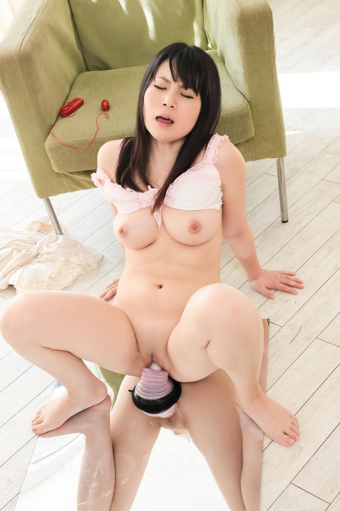 Asian big boob dildo