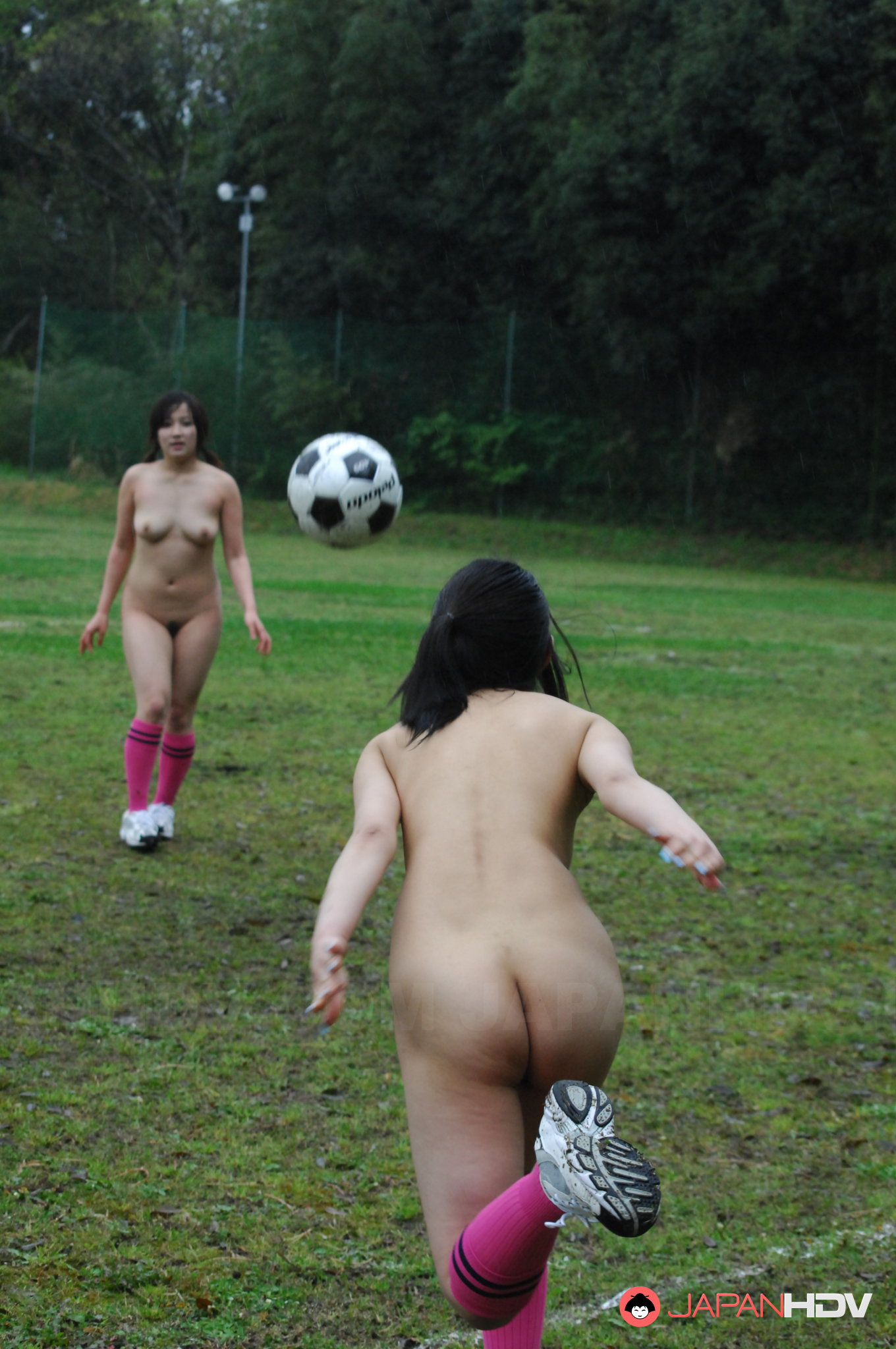 Naked girls playing soccer nude precisely does