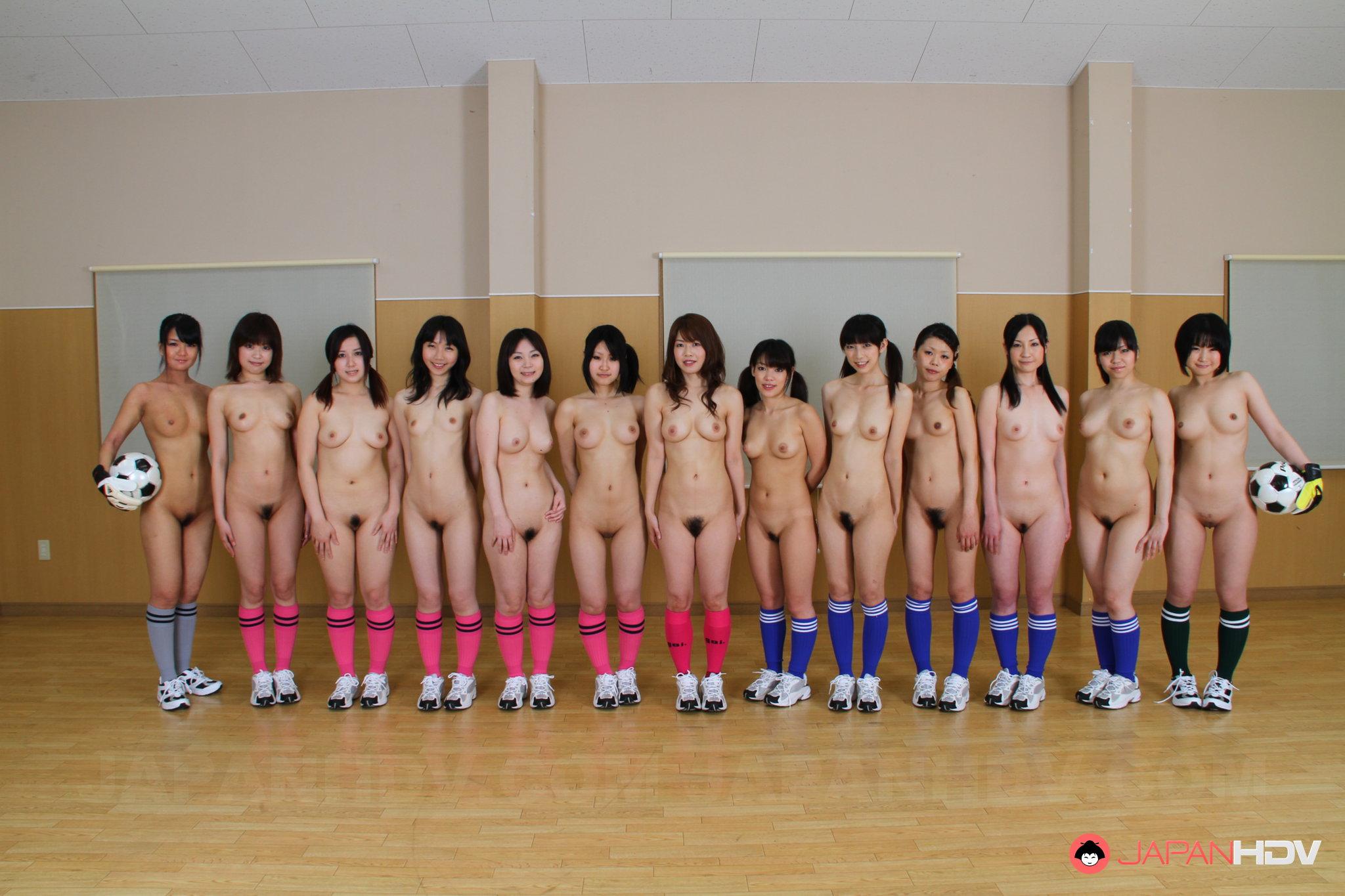 Japanese naked sport