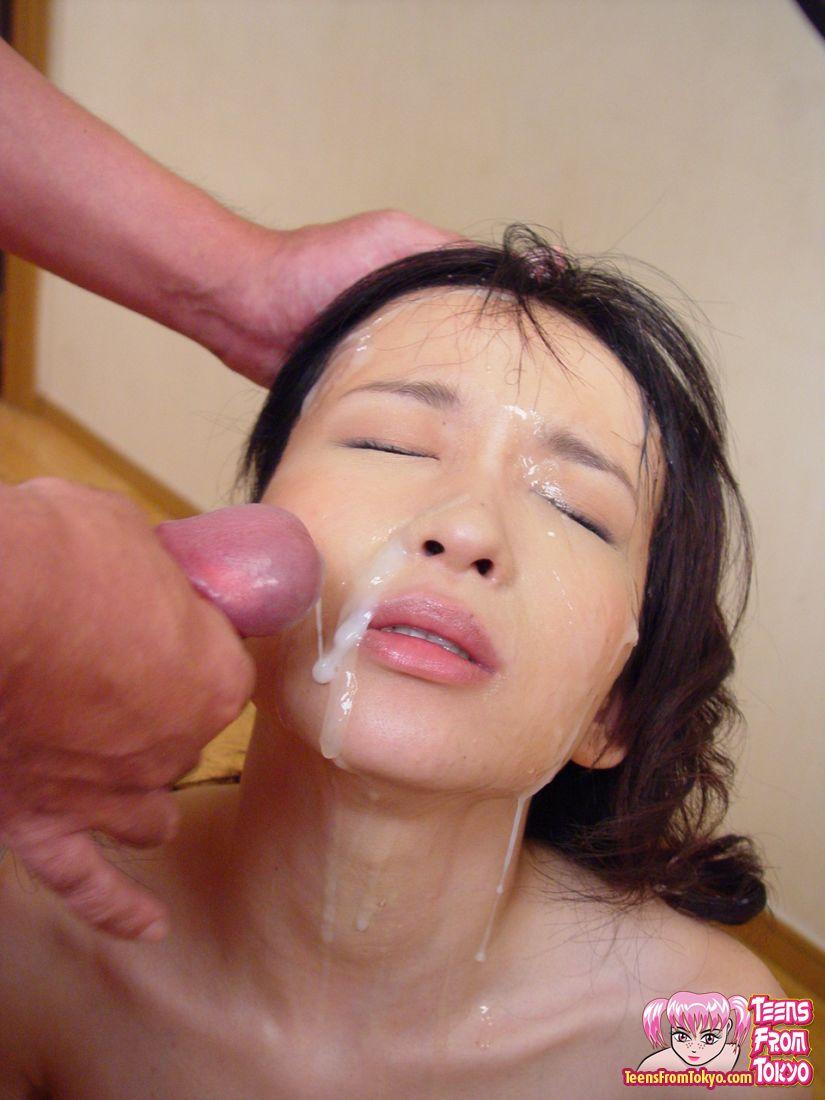 Bukkake Porn Asian Woman -